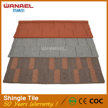 Wanael metal roofing sheets prices earthquake resistance fish scale heat insulation roof steel shingles