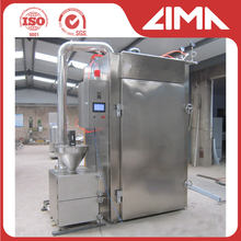 2017 hot selling stainless steel smoked meat machine, meat smoke house, smoked fish machine