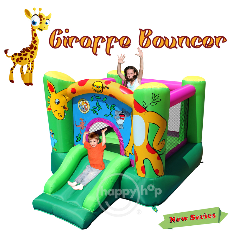 Happy Hop Inflatable Bouncer-9403 Girrafe Bouncer