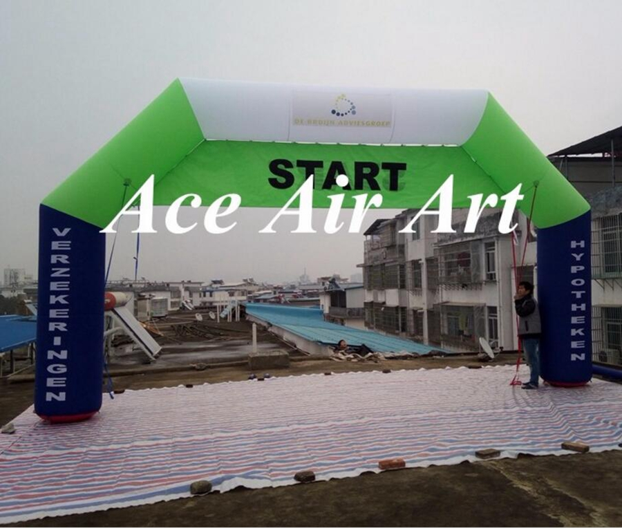 Inflatable Arch Start Line or inflatable fishing line arch with logo made in China factory