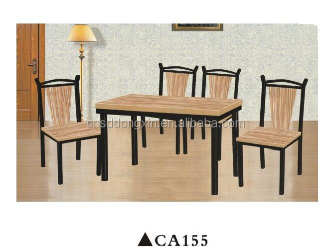 Latest wooden furniture designs restaurant table and chair/children dining table set CA155