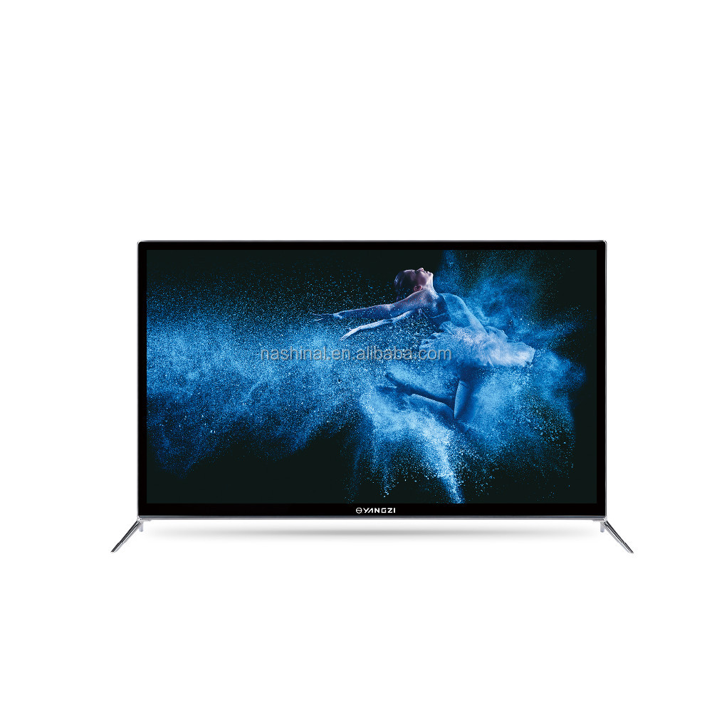 2017 new design Ultra HD wholesell factory oem Smart <strong>tv</strong> 4K 55 65 75 inch Eled flat screen televisions