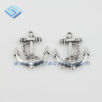Antique silver anchor Bracelet Connector Bracelet Charms