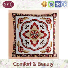 High quality cotton exclusive brand embroidered own design velvet cushions