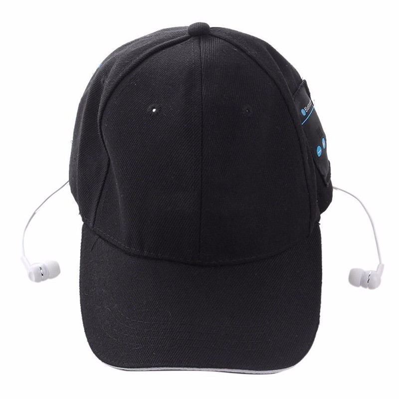 2016 high quality Classical Design baseball <strong>cap</strong> with bluetooth earphone
