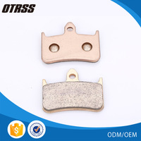 OEM quality golden sintered brake pad brake shoes motorcycles