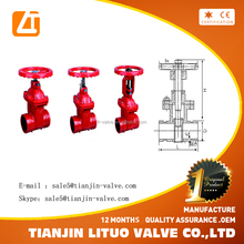 Quality assured Fire protection Wafer Type Butterfly Valve with Tamper Switch