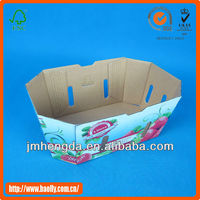Fashion New Design High Quality Cardbaord Printed Tomato Packing Boxes For Sale