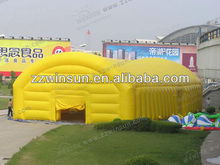 Large Oxford coth with PU coated material inflatable warehouse