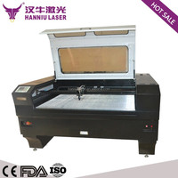 Cheap price Fabric printing skirt CO2 laser engraving machine