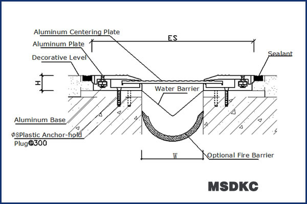 Marble Flooring Aluminum Interlocking Floor Expansion Joints - Buy ...