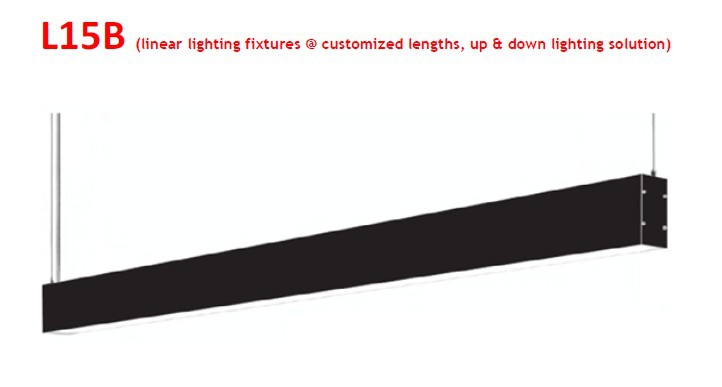 Sl l15b Aluminium Profile Office Fluorescent Lighting Led Office