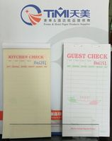 Guest check TM-803SP Restaurant pads