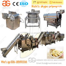 High Efficiency Industrial Fried Banana Chip Making Line Plantain Chips Processing Machine