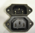 Yueqing female and male AC SOCKET for small household appliances