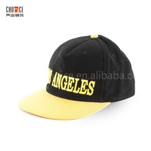 Children hat cotton black los angeles 3d embroidery custom baseball cap hats