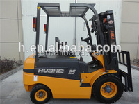 2.5ton forklift truck,four wheel drive forklifts, small electric forklift with SME/ZAPI/Curtis/GE electronic controller