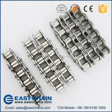 B series triple row pitch 15.875mm 304 stainless steel roller chain 10B-3