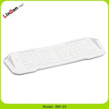 2015 Factory price Wireless Bluetooth Folding Keyboard for Apple iPhone iPad Samsung tab Android IBK-03 mobile phone accessories