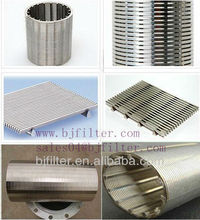 good quality galvanized low deep well carbon steel water well screen