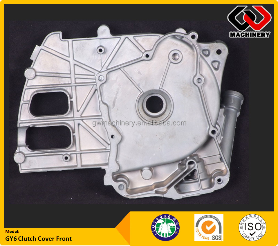 China Manufacturer Hi Precision Aluminum Die Cast Clutch Cover of Motorcycle Engine parts with ISO14001