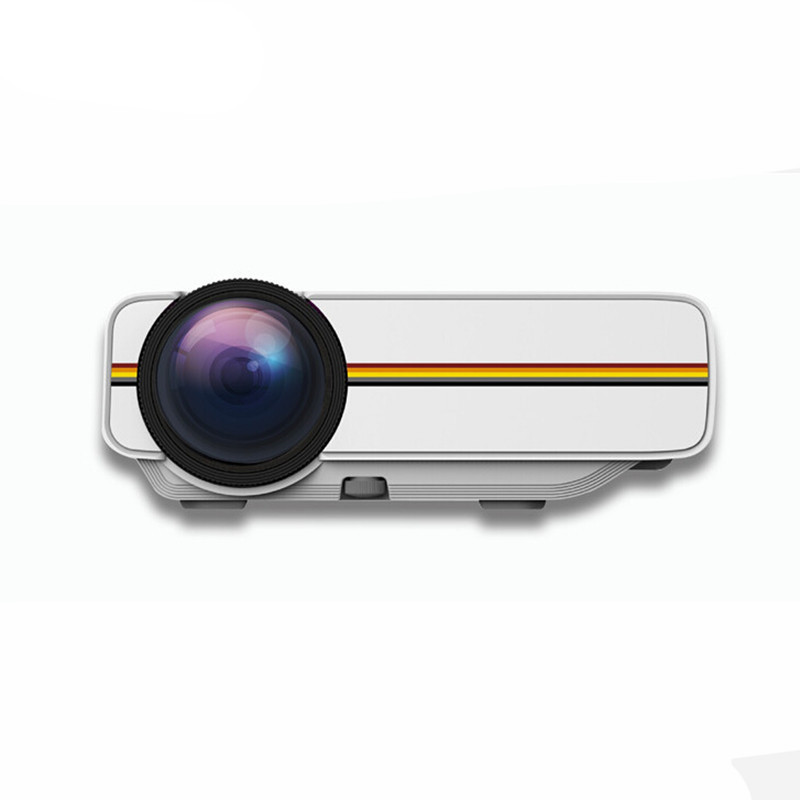 YG400 1000 Lumens Mini Protable Projector LED Full HD 1080p Home Theater PC USB HDMIAV VGA SD for Home Cinema Projector