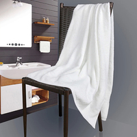 100 Cotton Material Hotel Bath Towel