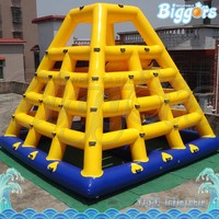 Lake Toys Inflatable Climbing Islands Water Game For Rentals
