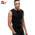 custom gym wear men blank dri fit sleeveless t shirts wholesale 65 polyester 35 cotton t shirt