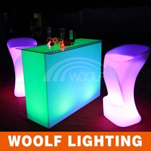 night club modern straight bar counter design