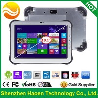 2015 NEW 10 Inch Rugged Tablet PC with Windows System Intel Quad core Finger Printer 3G GPS RFID NFC Rugged Windows Tablet PC