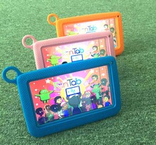 Hot sale 7inch children kinds educational game Android4.4 wifi A33 tablet pc MID PAD