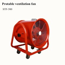 Portable smoke ventilation exhaust axial fan