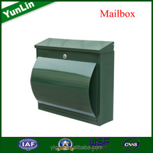 Magazine box Waterproof mailbox postbox with portable building door