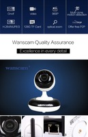 Wanscam HW0051 Pan-Tilt Zoom 960P Rotatable Wireless Housing Surveillance Network IP Camera, CE/FCC/RoHS