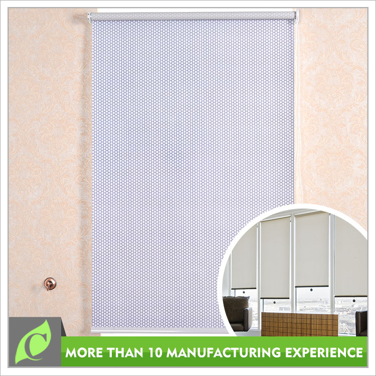 Ready made Water proof Custom color changing shower curtain, roller blind