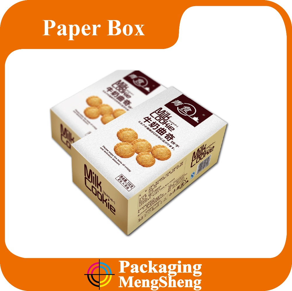 cookie box, paper cardboard cookie gift box, biscuit cookie box packaging