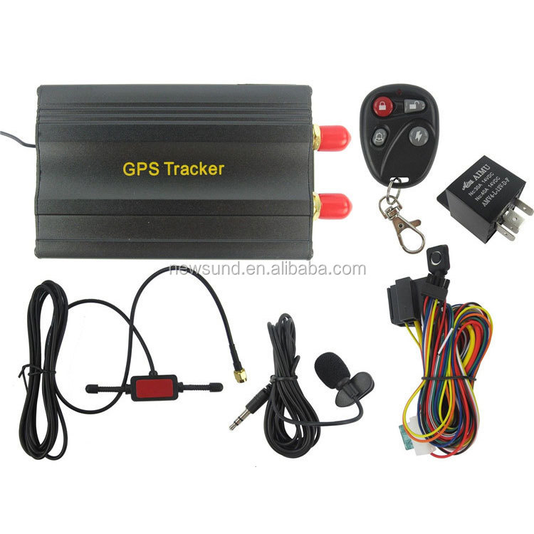 phone number track location gps tracker system, Vehicle GPS Tracker with one year free platform