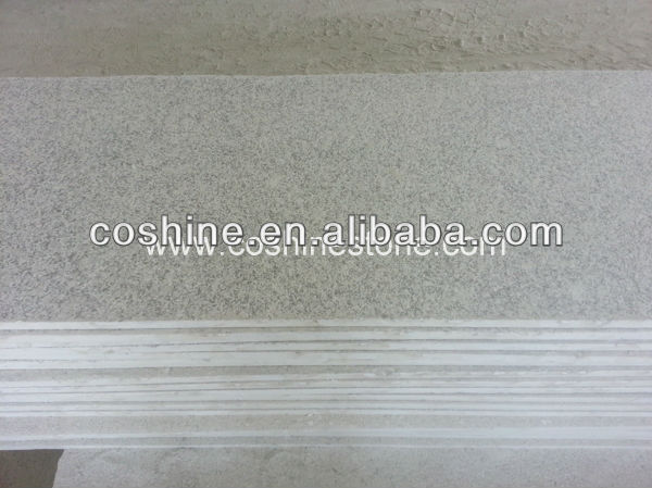 New G603 grey granite flamed slab