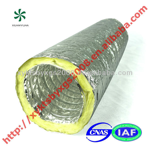insulation material acoustic flexible duct low price