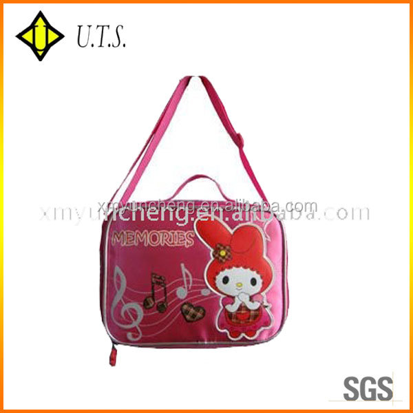 decorative promotional lunch bag for kids