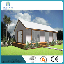 well designed construction & real estate prefabricated building weather proof log cabins prefabricated house villa
