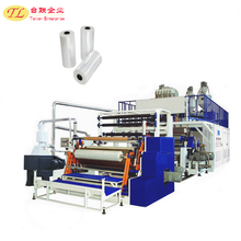 Economic factory direct sales automatic stretch film wrap used plastic injection moulding machine