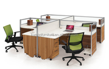 Fashion office partition system/office work partition/aluminum partition office cubicle workstation KBF HY-5032