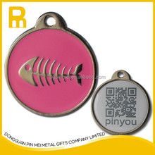 Customized promotional metal dog tag/blank dog tags wholesale/diy dog id tags for fashion