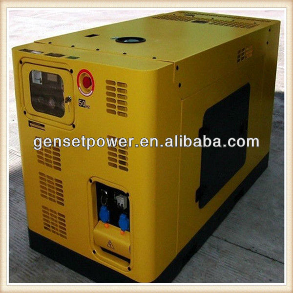 Outdoor enclosed insulated Power Diesel Generator 40kva with Cummins Engine
