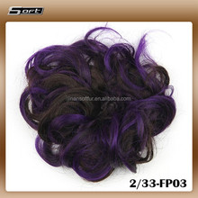 Western Style hair Accessories Synthetic hair bands wig from China
