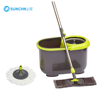 2016 New Item 360 Degree Rotating Flat & Round Mop