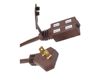 UL/CUL Indoor cube tap Slender plug-indoor cube tap 2-conductor Extension cord 13A 125V SPT-2 2X16AWG
