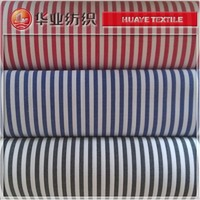 black white stripe 100 cotton yarn dyed woven fabric for shirting